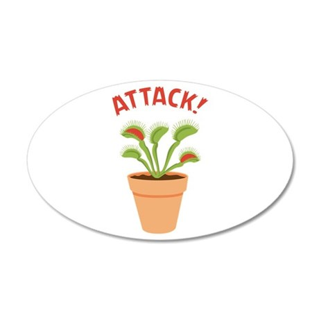 ATTACK! Wall Decal