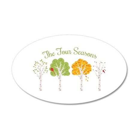 The Four Seasons Wall Decal