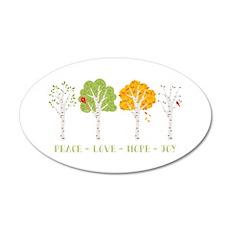 Peace-Love-Hope-Joy Wall Decal
