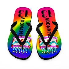 Thrilling 13th Flip Flops