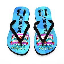 Gorgeous 13th Flip Flops