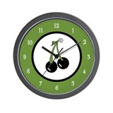 Black Cherries Wall Clock