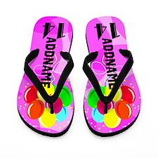 Festive 14th Flip Flops