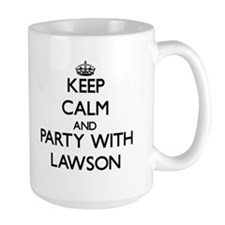 Keep calm and Party with Lawson Mugs