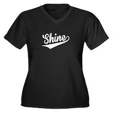 Shine, Retro, Plus Size T-Shirt