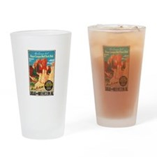 Bryce Canyon Vintage Art Drinking Glass
