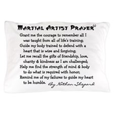 Martial Artist Prayer Pillow Case