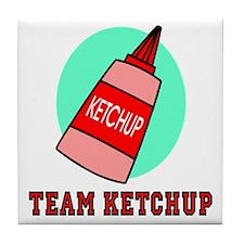 Team Ketchup Tile Coaster
