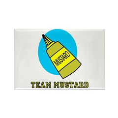 Team Mustard Rectangle Magnet