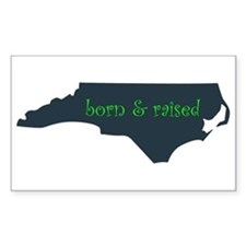 NC Born & Raised Decal