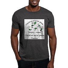 Whirled Green Peas  T-Shirt