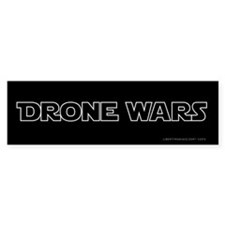 Drone Wars Bumper Bumper Sticker