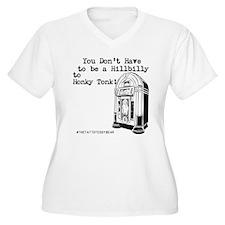 Hillbilly Women's V-Neck Plus Size T-Shirt