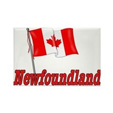 Canada Flag - Newfoundland Rectangle Magnet