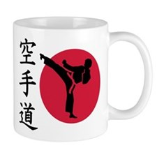 Chinese Karate fighter Small Mug