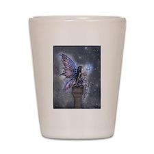 Little Blue Moon Fairy Fantasy Art Shot Glass