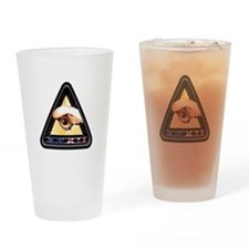 NROL-32 Program Logo Drinking Glass