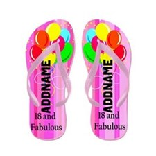 Gorgeous 18th Flip Flops