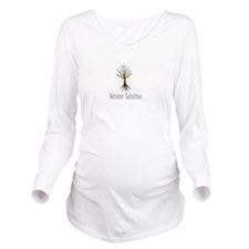 Unique Wiccan Long Sleeve Maternity T-Shirt