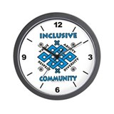 Inclusive Community Wall Clock