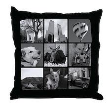 Your Photos Here - Photo Block Throw Pillow
