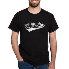 St. Martin, Retro, T-Shirt