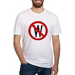 Slash Through W Fitted T-Shirt