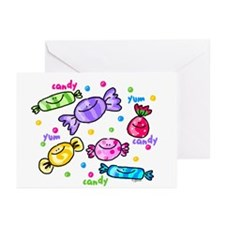Candy Greeting Cards (Pk of 10)