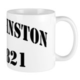USS JOHNSTON Mug