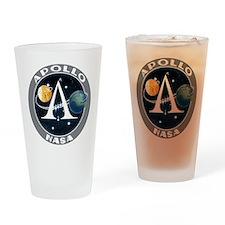 Apollo Program Drinking Glass
