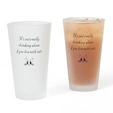 Drinking Alone Drinking Glass