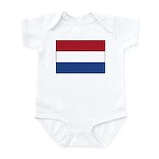 Netherlands Flag Infant Bodysuit
