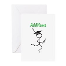 Customize Grad Runner Greeting Cards (Pk of 10)