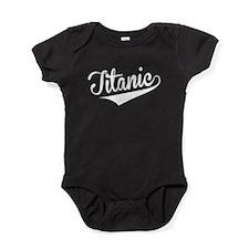 Titanic, Retro, Baby Bodysuit