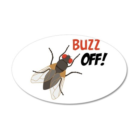 BUZZ OFF! Wall Decal