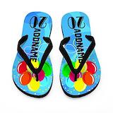 Happy birthday 20th Flip Flops