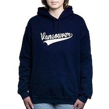 Vancouver, Retro, Women's Hooded Sweatshirt