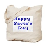 Happy Savta's Day Tote Bag