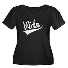 Vida, Retro, Plus Size T-Shirt