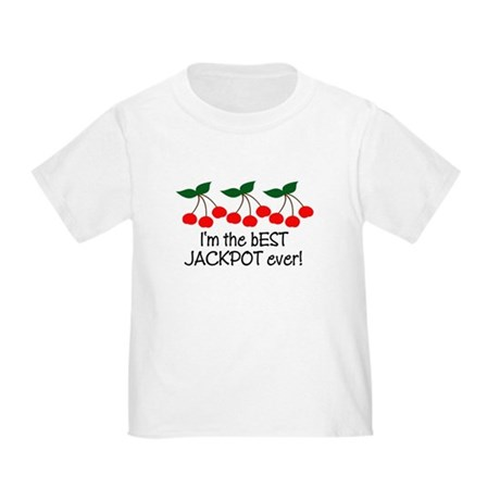 Vegas Best Jackpot Ever! Baby/Toddler T-Shirt