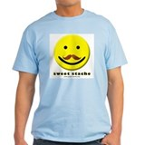 Sweet-Stache Smiley Light Tee