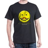 Sweet-Stache Smiley Red or Blue Tee