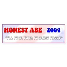Honest Abe Bumper Bumper Sticker