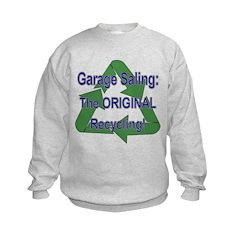 Tho ORIGINAL Recycling! Kids Sweatshirt