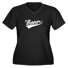 Winner, Retro, Plus Size T-Shirt