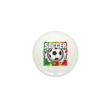 Portugal Soccer Mini Button (100 pack)
