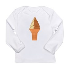 Swirl Cone Infant Long Sleeve T-Shirt