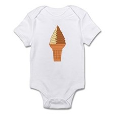Swirl Cone Infant Body Suit