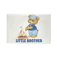 Sailorbear Little Brother Rectangle Magnet