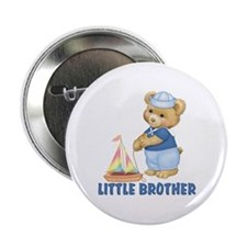 "Sailorbear Little Brother 2.25"" Button (10 pack)"